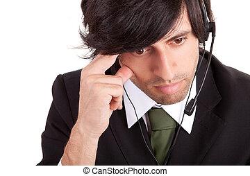 operador, telefone