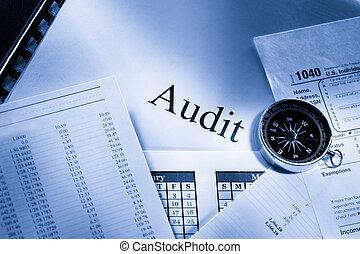 Operating budget, calendar, compass and audit