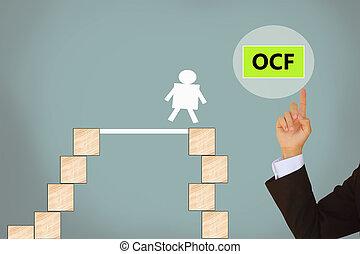 operating cash flow-business concept