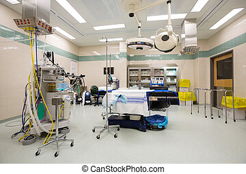 Operating Theater - Interior of empty operating theater