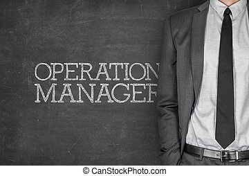 Operations manager on blackboard