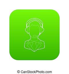 Operator icon green