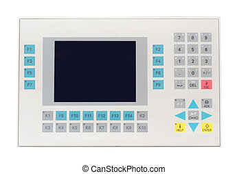 Operator panel - Picture of industial operator panel ...