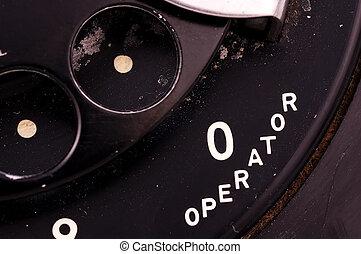 Operator - Vintage Rotary Phone
