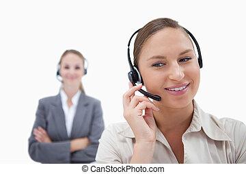 operatory, z, słuchawki