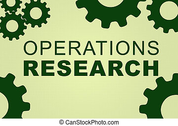 operazioni, ricerca, concetto