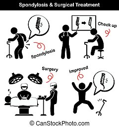 (, opererad, behandling, lida, rygg, kirurgisk, han, lumbal...