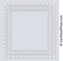 Operwork frame