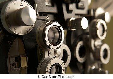 ophthalmologist, 工具