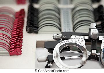 ophthalmologist, 成套用具