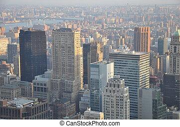 opinión de la ciudad, york, nuevo