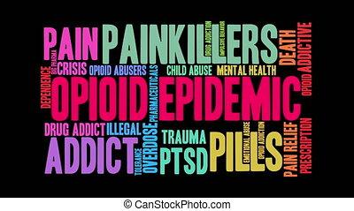 Opioid Epidemic Word Cloud