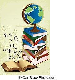 opleiding, boekjes