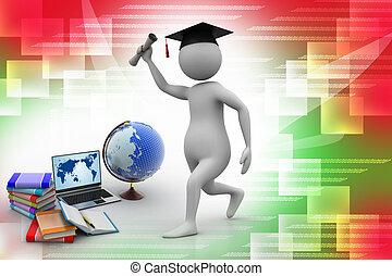 opleiding, concept