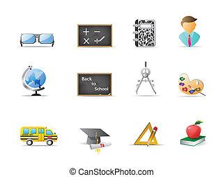 opleiding, pictogram