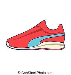 opleiding, sporten schoenen, lichamelijk