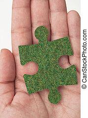 oplossingen, groene