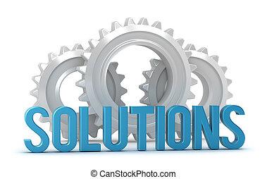 oplossingen, woord, met, cogs
