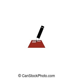 opmerking blok, pictogram