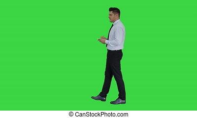 opmerkingen, chroma, idee, scherm, zeker, groene, key.,...