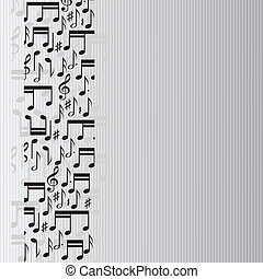 opmerkingen, muziek, achtergrond