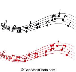 opmerkingen, muzikaal personeel
