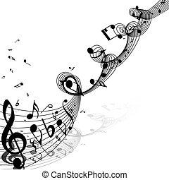 opmerkingen, ontwerp, muzikalisch