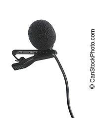 opname, condensator, microfoon, lavalier