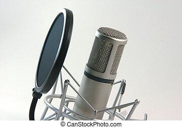 opname, filter, microfoon