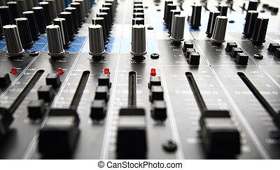 opname, mixer