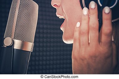 opname, zinger, lied