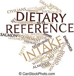 opneming, dieet-, referentie