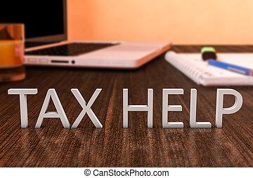 opodatkować, pomoc