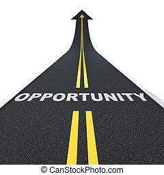 oportunidad, camino