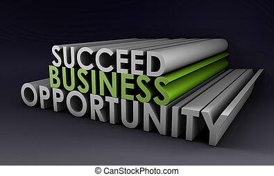oportunidad, empresa / negocio