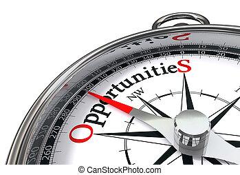 oportunidades, concpept, compasso