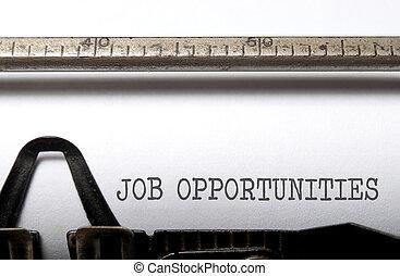 oportunidades trabalho