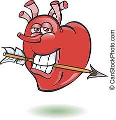 oppe, heart., smiley, tommelfinger