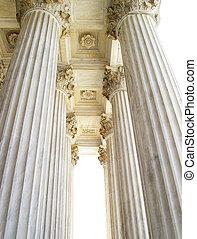 opperst hof, kolommen