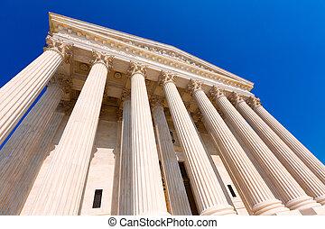 opperst hof, verenigde staten, in, washington