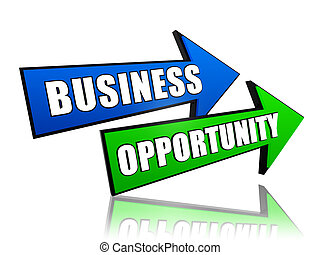 opportunità, frecce, affari