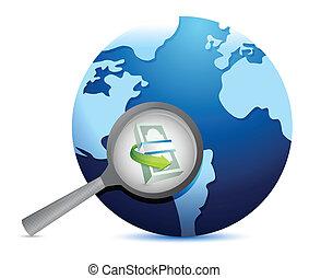 opportunities., concept, recherche, business