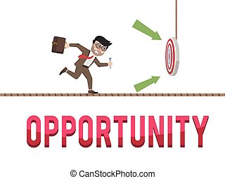 Opportunity business concept