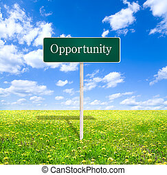opportunity - made from my images and photos