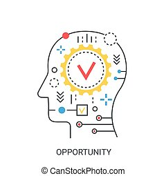 Opportunity vector illustration concept.