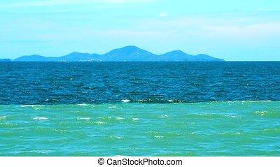 opposé, eau, bas, directions2, mer, frais, écoulement, depends, phénomène