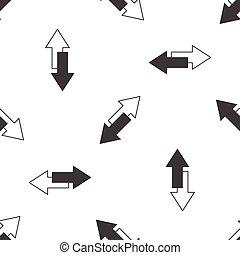 Opposite arrows pattern