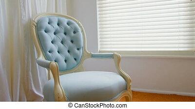 opróżniać, 4k, krzesło, dom