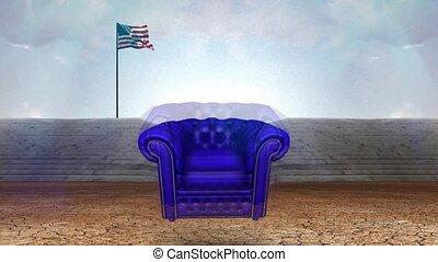 opróżniać, fotel