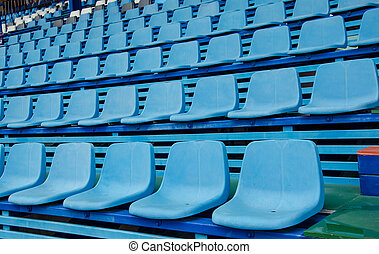 opróżniać, stadion
